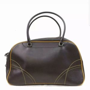 PRADA vitello large bowler Bag